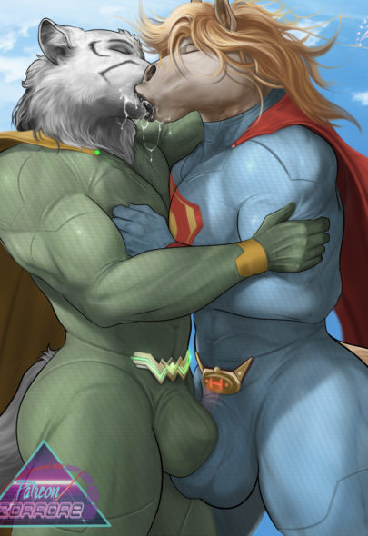 Superhorse vs. Wonder Wolf