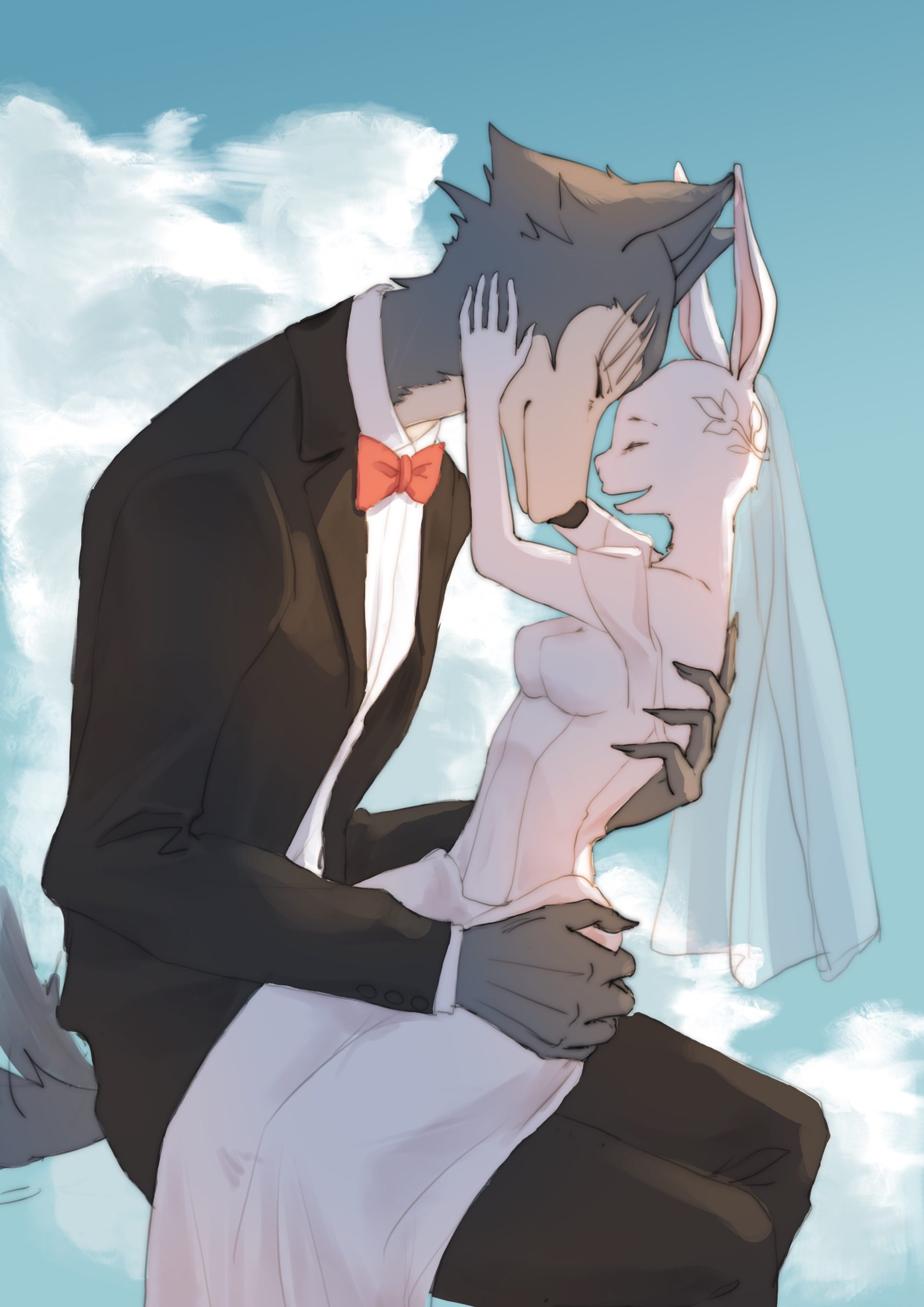 legoshi and haru